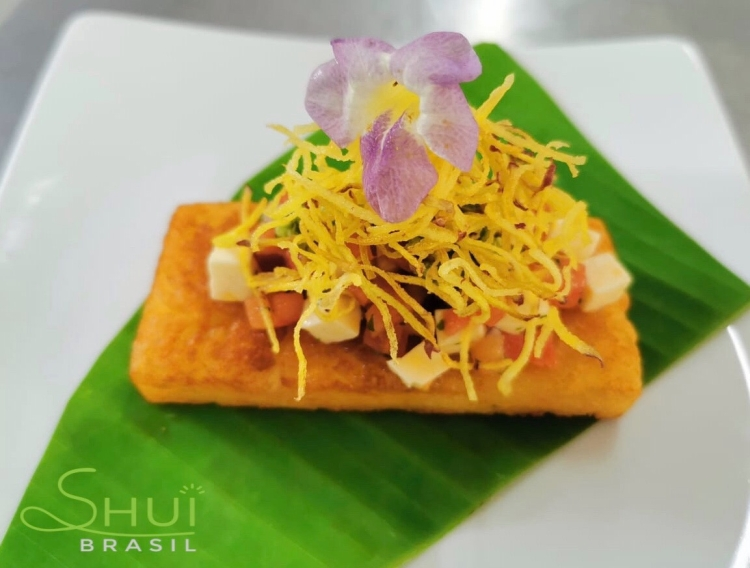 Menu de almoço do Shui Brasil